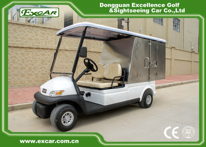 2 Person Hotel Buggy Car 3 7KW 48V Trojan Batteries Golf
