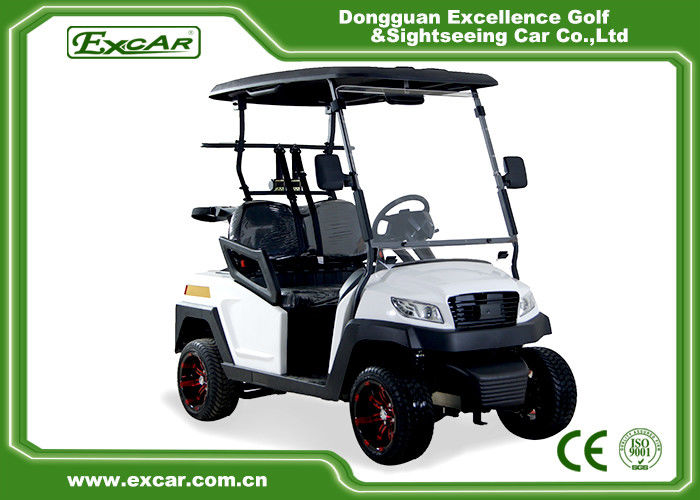 48V Trojan Battery Electric Golf Carts 2 Seater White Club Car ... on lithium bicycle batteries, 48v golf cart motors, 3 6 volt d cell batteries, 12 volt cart batteries, 48v golf cart volt meter, 48v golf carts race,
