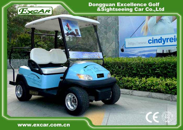 EXCAR 2 seater Mini Electric Golf Cart Trojan Battery golf