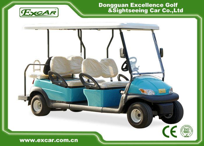 Street Legal Electric Carts >> Trojan Battery Electric Golf Car Six Passenger Street
