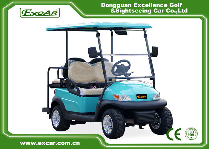 front rear 4 seats electric golf carts battery powered. Black Bedroom Furniture Sets. Home Design Ideas