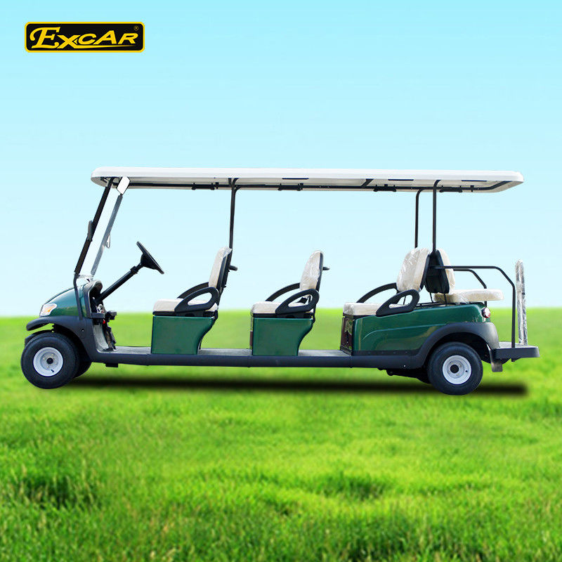 6+2 Seats Electric Sightseeing Bus With Trojan Battery