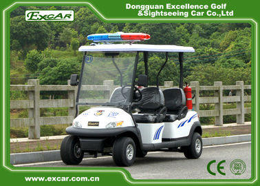 EXCAR 48V 4 Seats Electric Patrol Car Electric Patrol Vehicle Customized Logo
