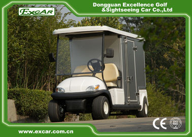 China 48V Trojan Battery Electric Food Cart Vending Golf Cart With Container factory
