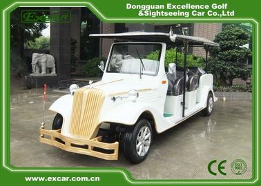 EXCAR 8 Passenger Electric Classic Cars 72V Battery Electric Vintage Car