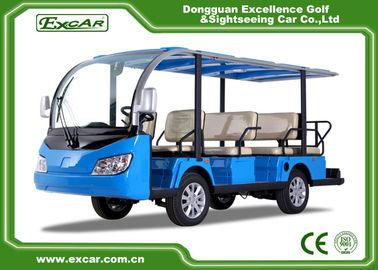 7.5 KW 72V Motor Electric Passenger Bus Battery Operated Disc Brake Technology