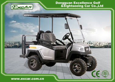 China ADC Motor 48V 4 Seater Electric Hunting Carts / Club Car Electric Golf Car factory