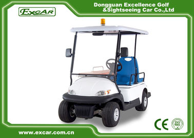 China EXCAR Mini Ambulance Golf Cart For Hospital With 1 Stretcher CE Certification factory