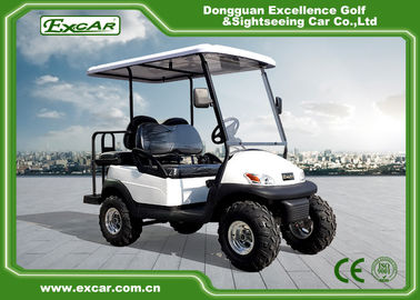 China EXCAR 48V 2 Seater Electric Hunting Golf Carts Intelligent Onboard Charger factory