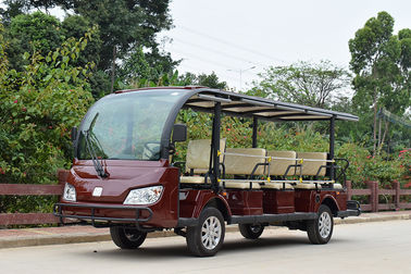 China Outside Electric Shuttle Car / Stiff PC Material Endure Club Car Electric Golf Cart factory