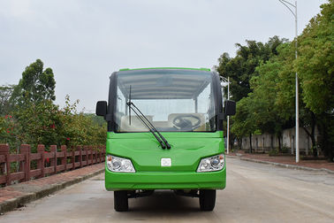 China 14 Seats 4 Wheel Drive Electric Sightseeing Vehicle Cart 5300*1500*2000mm factory